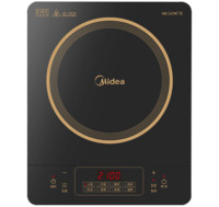 Midea 美的 C21-RT21E0105 智能电磁炉 黑色