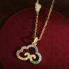 ILY ILY-5209527-1 七彩祥云项链
