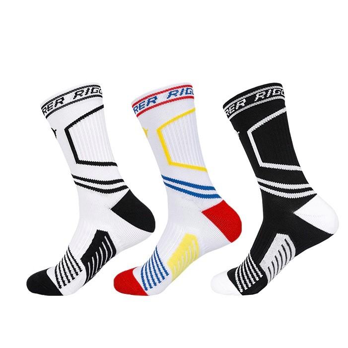RIGORER 准者 Z119340328 男士中筒篮球袜 3双装