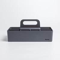 韩国原产SYSMAX Myroom Porta系列加大号多功能收纳盒储物盒 灰色