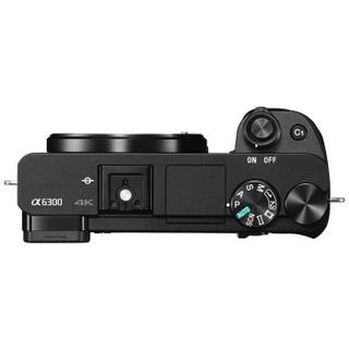 SONY 索尼 Alpha 6300 微单数码相机 单机身 黑色