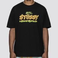 Stussy SOUND SYSTEM 男士短袖T恤