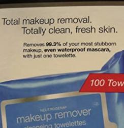 Neutrogena 露得清 卸妆湿巾 100张