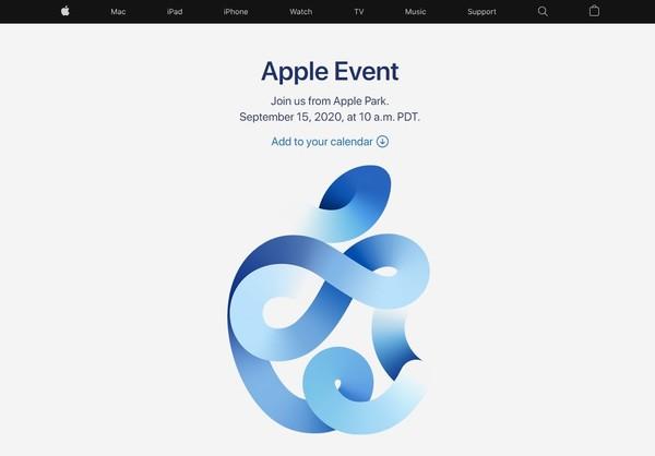 定了!苹果(Apple)2020年官方新品发布会定档北美时间15日10点