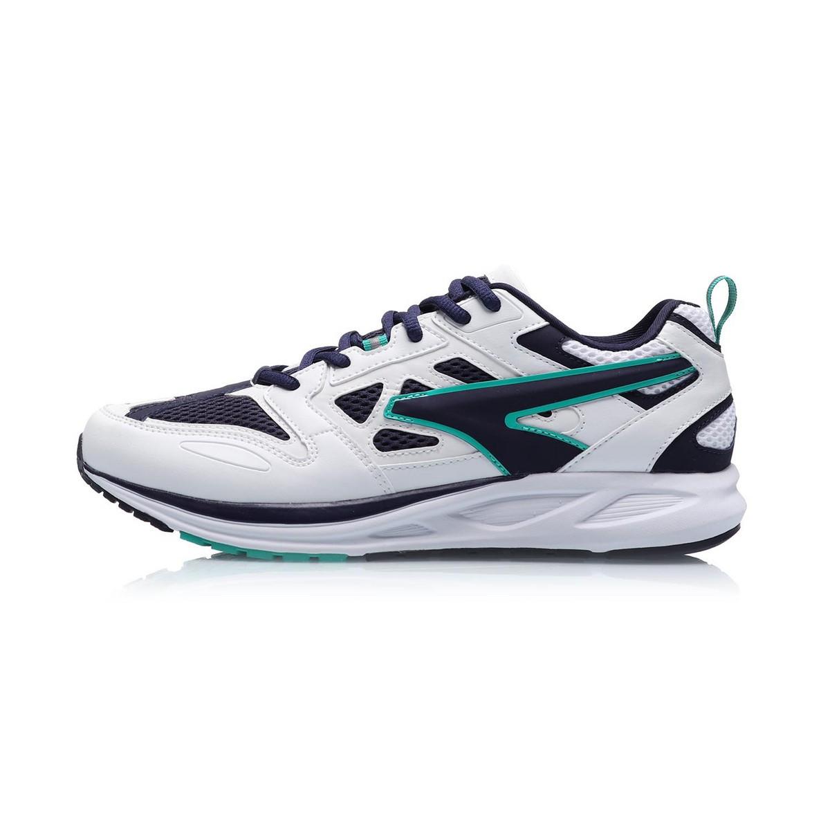 LI-NING 李宁 男士休闲运动鞋 ARHP103-4 标准白/深碗蓝/青碧绿 39