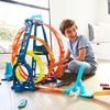 HOT WHEELS 风火轮 GLC96 三环挑战轨道组合套装 儿童轨道玩具
