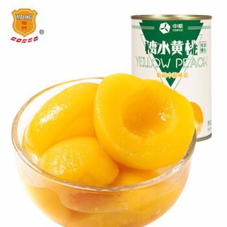 梅林 糖水黄桃罐头 425g *21件