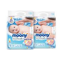 moony 尤妮佳 嬰兒紙尿褲 M64 *4件