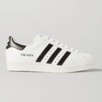 ADIDAS ORIGINALS x Prada 联名 Superstar 皮革运动鞋