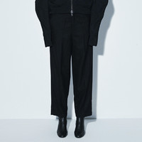 限尺码 : JNBY 江南布衣 5H9310620 女士直筒纯羊毛西裤