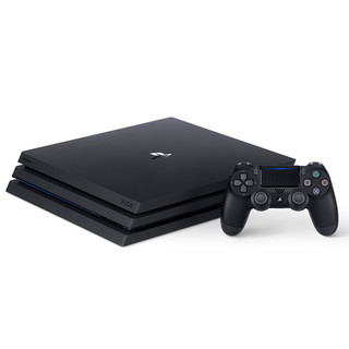SONY 索尼 PlayStation 4 Pro+《火影忍者》 游戏机套装 1TB 黑色