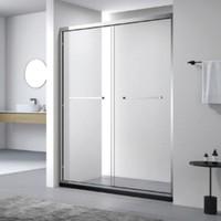 diiib 大白 不锈钢一字型整体淋浴房