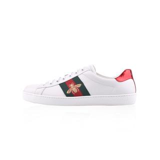 GUCCI 古驰 Ace系列 429446 蜜蜂刺绣小白鞋