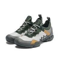 ecco 爱步 健步探索系列 男士户外跑鞋 80281452093 米灰色 42