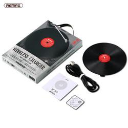 REMAX 睿量 黑胶唱片式 无线充电器 10W快充