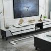 一米色彩 现代简约实木可伸缩电视柜(195-295cm)