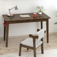 塞纳左居 全实木家用电脑桌 (0.8米无抽单桌)