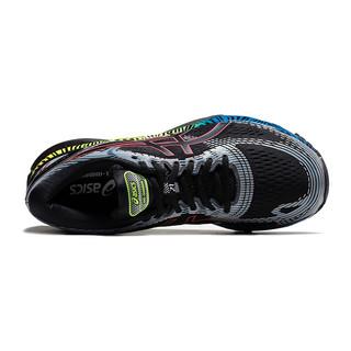 ASICS 亚瑟士 GEL-NIMBUS 21 LS 男士跑鞋 1011A632-001 黑色/银色/蓝色 40