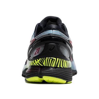 ASICS 亚瑟士 GEL-NIMBUS 21 LS 男士跑鞋 1011A632-001 黑色/银色/蓝色 40.5