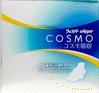 whisper 护舒宝 cosmo系列卫生巾 10片