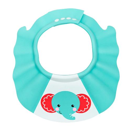 Fisher-Price 费雪 CPFP0276 婴幼儿小象图案洗头帽 蓝色