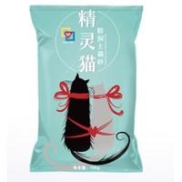 精灵猫 膨润土猫砂 无香型 10公斤
