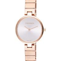 Calvin Klein 卡尔文·克莱 K8G23646 Authentic系列 玫瑰金石英手表