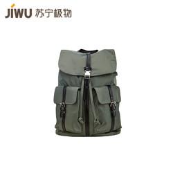 JIWU 苏宁极物 英伦风休闲双肩背包