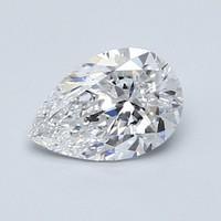 Blue Nile 0.90克拉梨形切割钻石