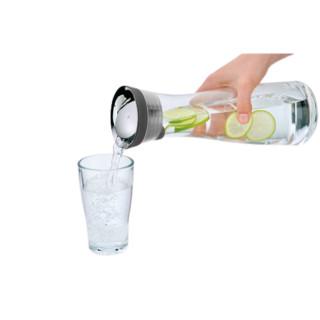 WMF 福腾宝 Basic系列 3201000189 凉水玻璃壶 1L 黑色