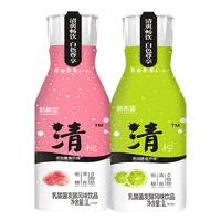 聚划算百亿补贴:NEW HOPE 新希望 乳酸菌发酵风味饮品 清柠1L+清桃1L