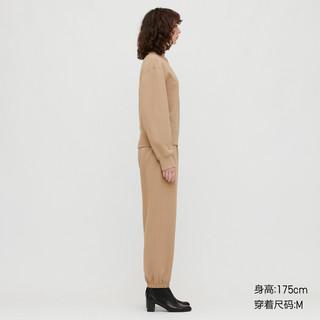 UNIQLO 优衣库 女士纯棉圆领运动卫衣430866