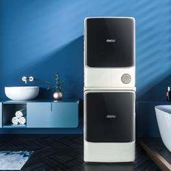 小吉10+10KG智能滚筒洗烘套装热泵式烘干机洗衣机组合