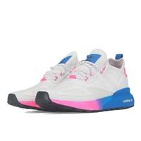 adidas Originals ZX 2K Boost 女士跑鞋 FY0605 白色/粉色/蓝色 36