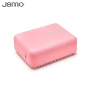 尊宝(JAMO)R1 Cub蓝牙音箱新品小方盒便携 户外音箱 随身迷你小音响大功率超长续航防水小巧 粉色