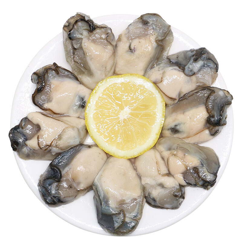 PLUS会员 : XIANBOHUI 鲜博汇 牡蛎肉海蛎子 500g 30-40个袋