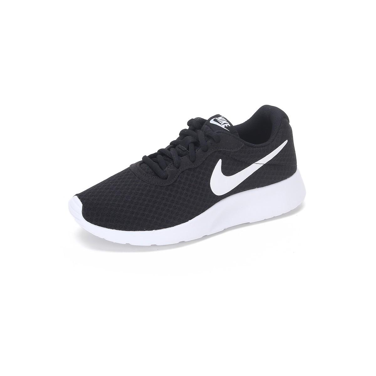 NIKE 耐克 Tanjun 女士休闲运动鞋 812655-011 黑色/白色 36