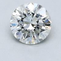 补贴购:Blue Nile 1.2克拉圆形切割钻石(切工非常好 成色H 净度VS2)