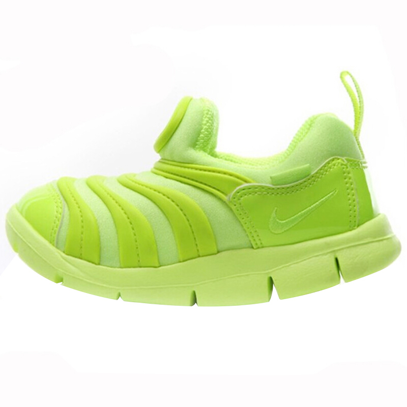 NIKE 耐克 DYNAO FREE 婴儿透气学步鞋 343938-702 荧光黄 27
