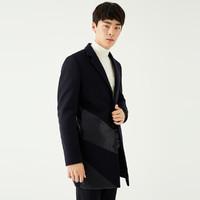 GXG 174126383598 羊毛呢大衣中长款