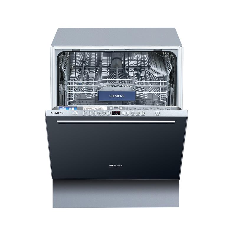 SIEMENS 西门子 焕净系列 SJ636X00JC 嵌入式洗碗机 13套 黑色