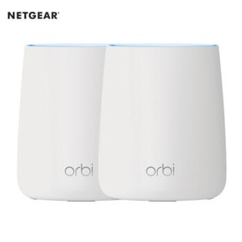美国网件(NETGEAR)Orbi Mini RBK20 三频4400M大户型分布式路由器 认证翻新