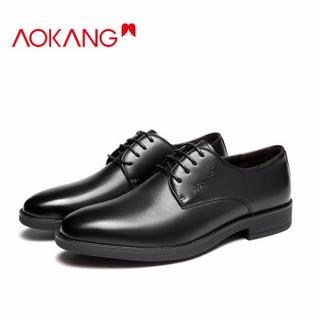 AOKANG 奥康 NF03111034 男士皮鞋 *2件