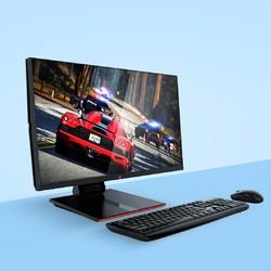 宁美国度 H2401 台式电脑一体机(i5-9400、8GB、240GB+1TB)