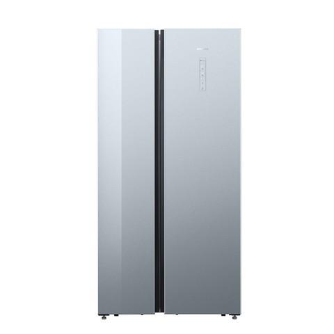 西门子冰箱双开门嵌入式超薄风冷无霜玻璃对开门新冰箱KA50SE43TI