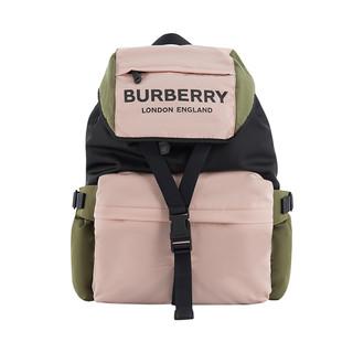 考拉海购黑卡会员 : BURBERRY 博柏利 8010502 女士Logo印花三色尼龙背包