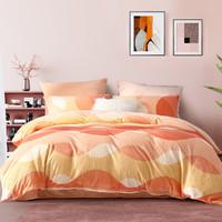 法兰绒四件套床上用品吸湿发热保暖床单被罩床上用品套件