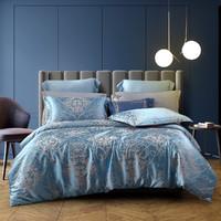 欧式轻奢亲肤大提花四件套床单被套床上用品套件