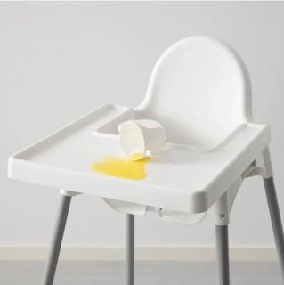 IKEA 宜家 婴儿餐椅 白色/银色