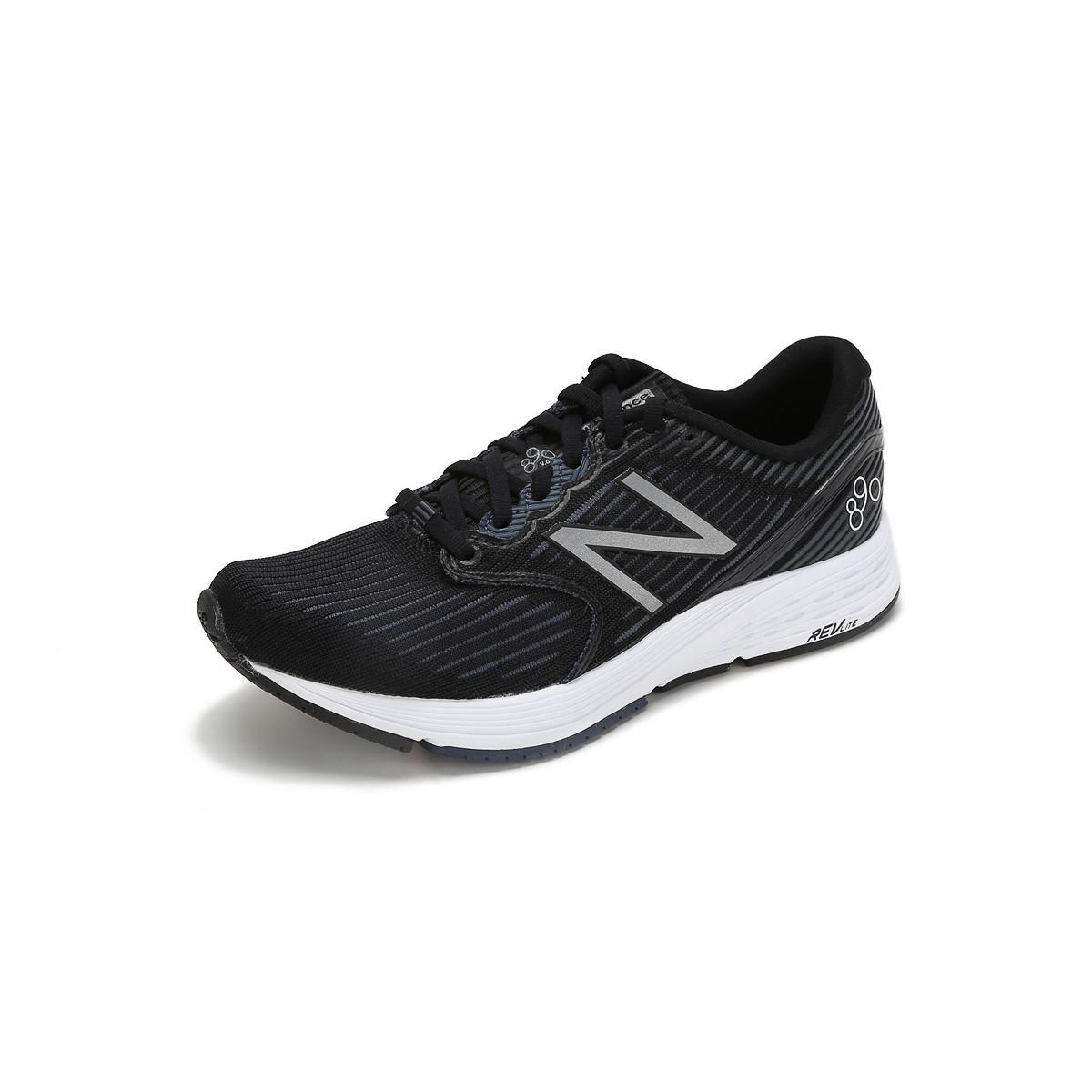 new balance NB890 女士跑鞋 W890BK6 黑色 35